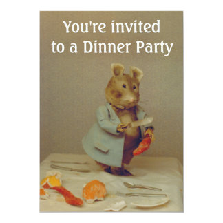MäuseKochs-Einladungs-Karte 12,7 X 17,8 Cm Einladungskarte