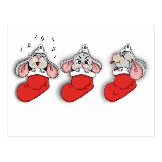 Mäusekopie Postkarte