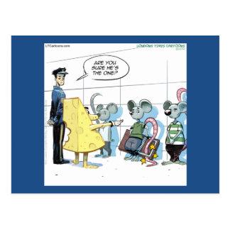 Mäuseverbrechen durch Rick London lustig Postkarte