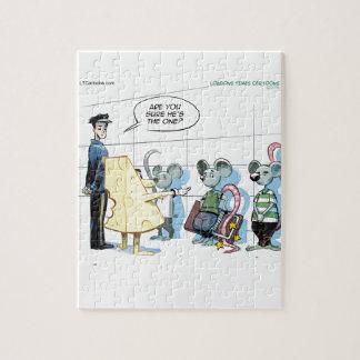 Mäuseverbrechen durch Rick London lustig Puzzle