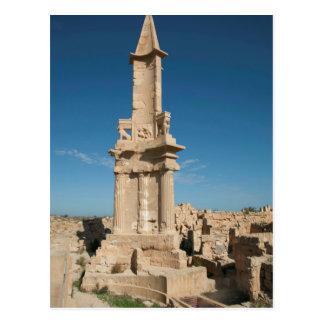 Mausoleum von Bes, Sabratha, Az Zawiyah Bezirk Postkarte