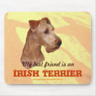 "Mauspad ""Irish Terrier"""