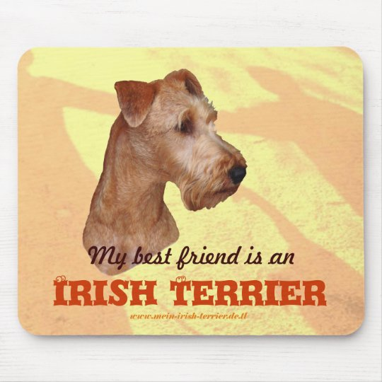 "Mauspad ""Irish Terrier"""