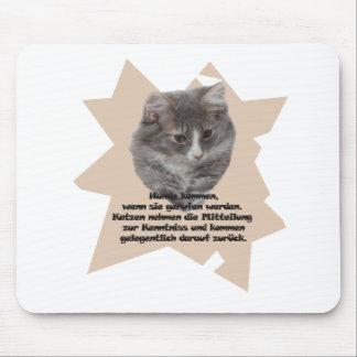 """Mauspad """"Katze """""""