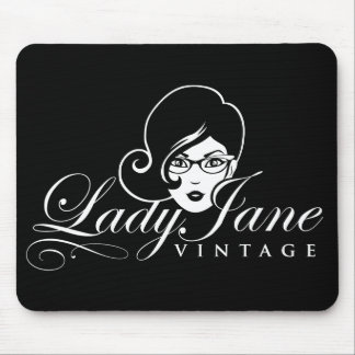 Mausunterlage Damen-Jane Vintage Mousepad