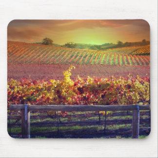 Mausunterlage des Wein-Liebhabers Mauspads
