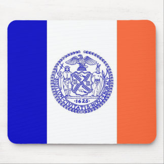 Mausunterlage mit Flagge von New York City - USA Mauspads