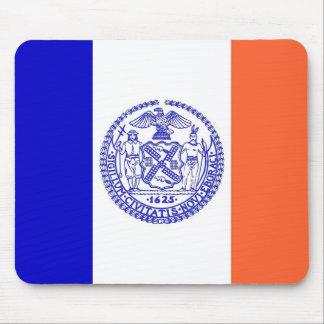 Mausunterlage mit Flagge von New York City - USA Mousepad