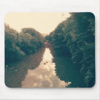 Mausunterlage mit Fluss-Foto Mousepad