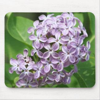 Mausunterlage mit Foto der schönen lila Fliedern Mauspad
