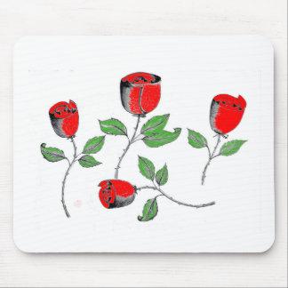 Mausunterlage mit Rosen Mousepad