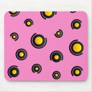 "Mausunterlage - Modell ""Sphéris"" - Rosa Mousepads"