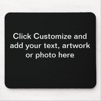 Mausunterlage-Schwarz-Hintergrund Mousepad