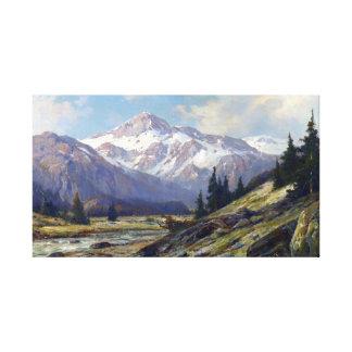 Maximaler Cornelius Rocky Mountains Leinwanddruck