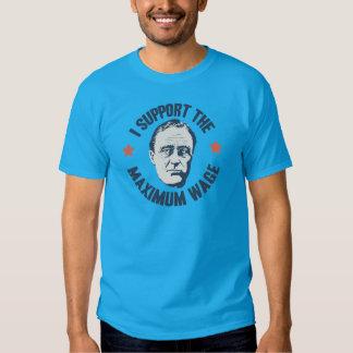Maximaler Lohn FDR Shirts
