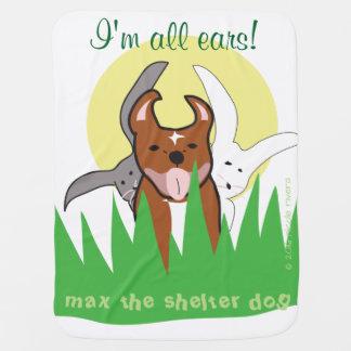 Maximales   bin ich alle Ohr-Baby-Decke Kinderwagendecke