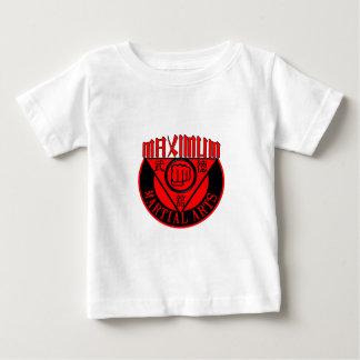 Maximales Kriegsemblem rot und schwarz Baby T-shirt