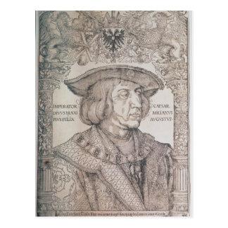 Maximilian I, Kaiser von Deutschland, 1518 Postkarte