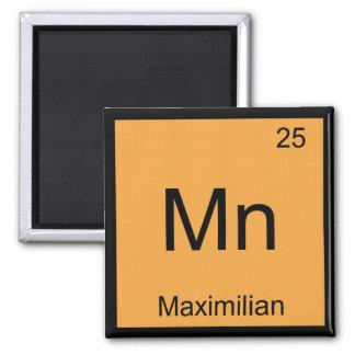 Maximiliannamenschemie-Element-Periodensystem Kühlschrankmagnete