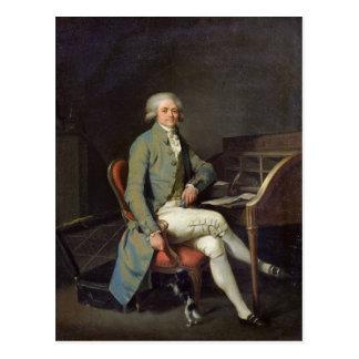 Maximilien de Robespierre Postkarte