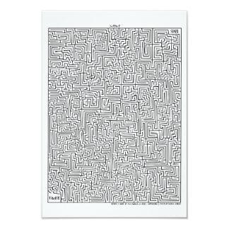 Maya1 fantastisches Labyrinth! Einladung