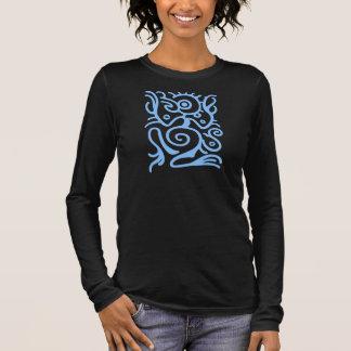 Maya Birdman Symbol Langarm T-Shirt
