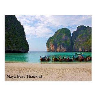 Maya-Bucht, Thailand Postkarte