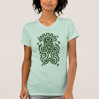 Maya-Göttin-Symbol T-Shirt
