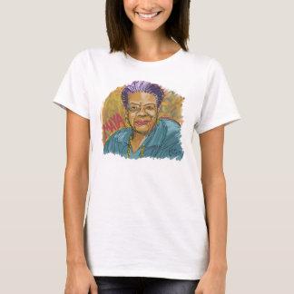 Maya in einer Linie T-Shirt