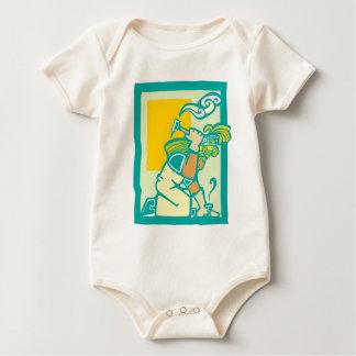 Maya mit Hammer Baby Strampler
