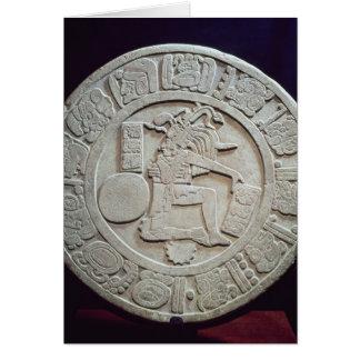 Mayaballgerichtsmarkierung, von Chinkultic Karte