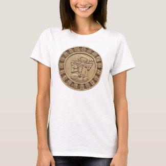 Mayader kalender-T - Shirt der Frauen