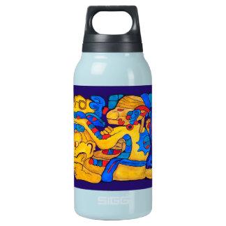MAYAgeist-HUNNE CHOWEN- BLAUER CANCUN Isolierte Flasche