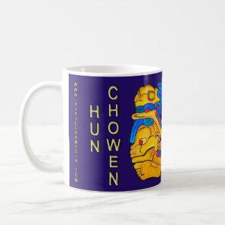 MAYAgeist-HUNNE CHOWEN- BLAUES MAYAriviera Kaffeetasse
