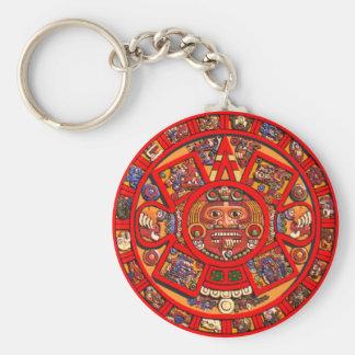 Mayakalender-Schlüsselkette Standard Runder Schlüsselanhänger