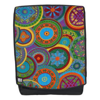 Mayakreis-Muster-Hintergrund Rucksack