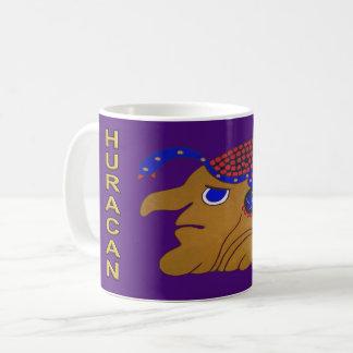 MAYAmitternacht PURPLE-CANCUN DES GEIST-HURACAN- Kaffeetasse