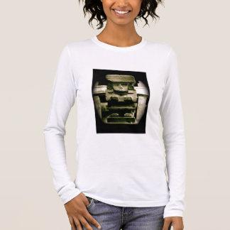Mayan Sculpture Langarm T-Shirt
