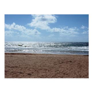 Mayaro Strand-früher Morgen, Trinidad-Postkarte Postkarte