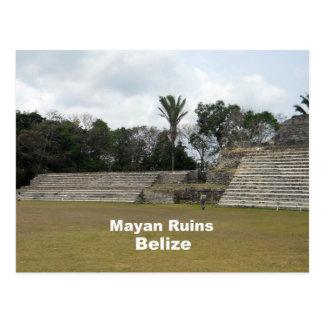 Mayaruinen, Belize Postkarte