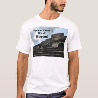 MayaSonnengott-Tempel; Belize T-Shirt
