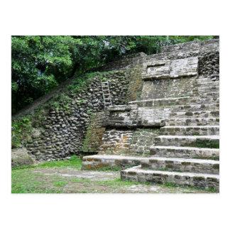 Mayatempel Belize Mittelamerika Postkarte