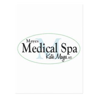 Mayes medizinischer Wellness-Center Postkarten