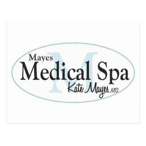Mayes medizinischer Wellness-Center Postkarte