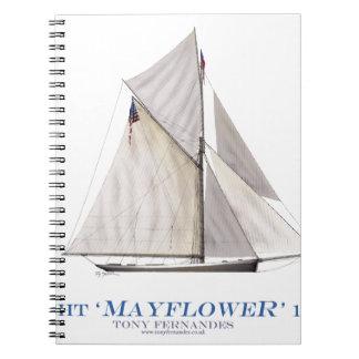 Mayflower 1886 notizblock