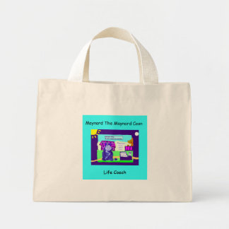 Maynard die Maine-Waschbär-Taschen-Tasche. Mini Stoffbeutel