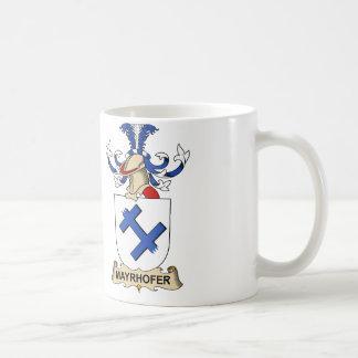 Mayrhofer Familienwappen Kaffeetasse