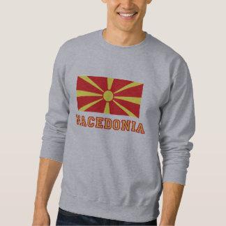 Mazedonien-Flagge 2 Sweatshirt