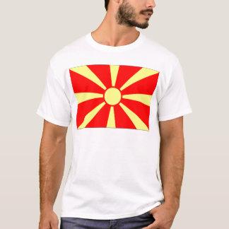 Mazedonien-Flagge T-Shirt