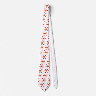 Mazedonien-Flagge und mazedonischer Sprachentwurf Bedruckte Krawatte